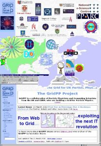 From Web to Grid exploiting the next IT