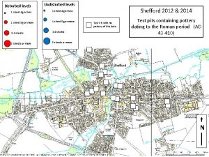 Disturbed levels 1 sherd 4 g or less