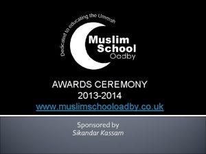 MSO Awards Ceremony 2012 AWARDS CEREMONY 2013 2014