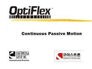 Continuous Passive Motion CPM CPM TKRTotal Knee Replacement