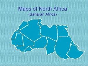 Maps of North Africa Saharan Africa Egypt Cairo