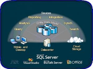 REQUISITOS SQL SERVER Microsoft SQL Server es un