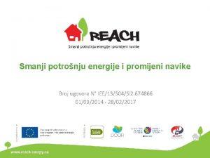 Smanji potronju energije i promijeni navike Broj ugovora