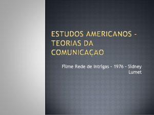Filme Rede de Intrigas 1976 Sidney Lumet 191020