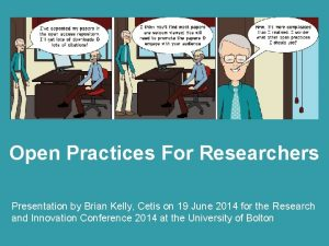 Open Practices Beyond Open Access Open Practices For