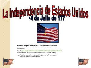 Elaborado por Profesora Lina Marcela Osorio V Tomado