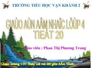 TRNG TIU HC VN KHNH 2 Gio vin