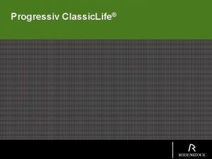 Progressiv Classic Life Progressiv Classic Life Perfalit 1