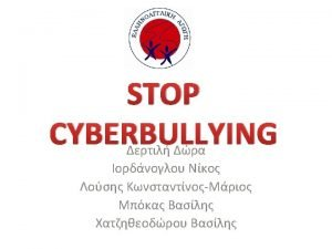 What is cyber bullying Cyber bullying is a