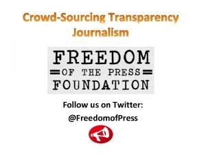 Follow us on Twitter Freedomof Press Amazons decision