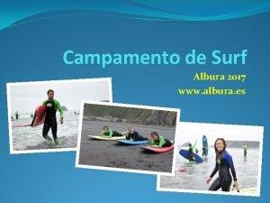 Campamento de Surf Albura 2017 www albura es