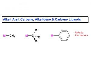 Hydride Elimination Ligands that avoid hydride elimination Olefin