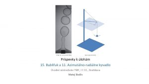 Phys Rev Lett 116 077801 iypt orgproblems Prspevky