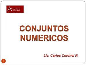 Lic Carlos Coronel R 1 2 Ejercicio 3