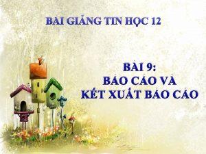 BI GING TIN HC 12 BI 9 BO