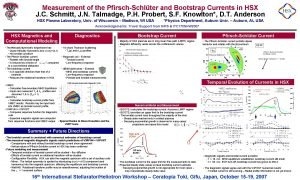 Measurement of the PfirschSchlter and Bootstrap Currents in