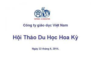 Cng ty gio dc Vit Nam Hi Tho