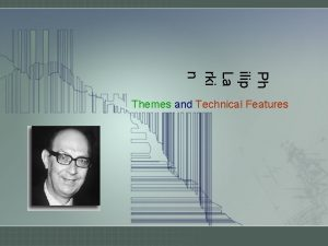 Ph ilip La rki n Themes and Technical