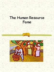The Human Resource Fame A Human Resource View