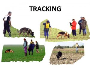 TRACKING General Provisions The tracking terrain must meet