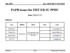 July 2020 doc IEEE 802 11 201135 r