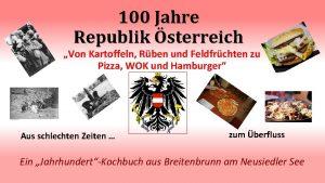 100 Jahre Republik sterreich Von Kartoffeln Rben und