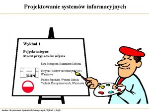 Projektowanie systemw informacyjnych Wykad 1 Pojcia wstpne Model