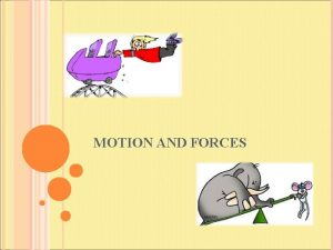 MOTION AND FORCES MOTION Motion A change in