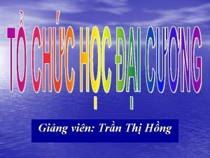 Ging vin Trn Th Hng A Ti liu