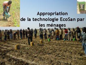 Appropriation de la technologie Eco San par les