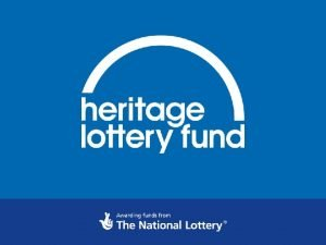 Heritage Lottery Fund Train the Trainer event Meet