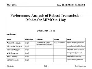 May 2016 doc IEEE 802 11 160632 r
