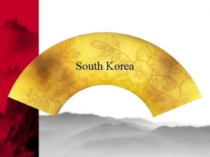 South Korea APPOINTMENT Be punctual However your Korean