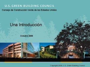 Consejo de Construccin Verde de los Estados Unidos