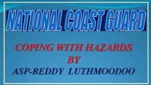 COPING WITH HAZARDS BY ASPREDDY LUTHMOODOO TSUNAMI TSUNAMI