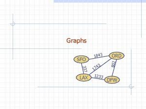 Graphs 337 LAX 3 4 7 1 1233