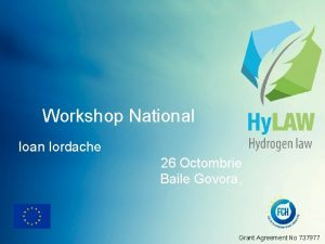 Workshop National Ioan Iordache 26 Octombrie Baile Govora