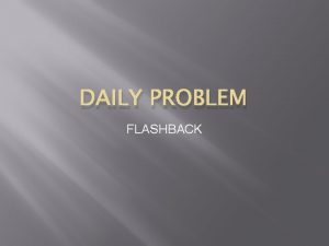 DAILY PROBLEM FLASHBACK January 9 2014 Jennifer purchased