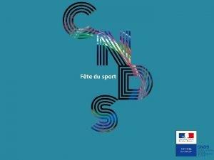 Fte du sport 1 Fte du Sport une
