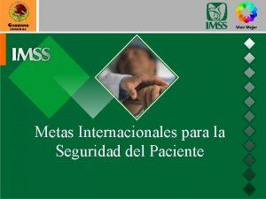 Metas Internacionales para la Seguridad del Paciente Certificacin