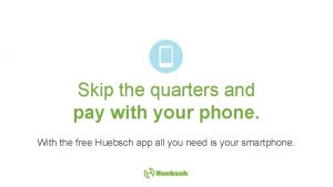 Skip the quarters and pay with your phone