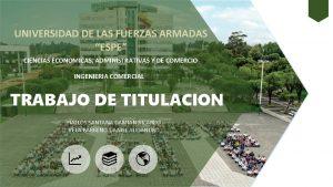 UNIVERSIDAD DE LAS FUERZAS ARMADAS ESPE CIENCIAS ECONOMICAS