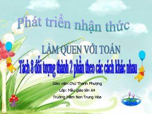Gio vin Ch Thanh Phng Lp Mu gio