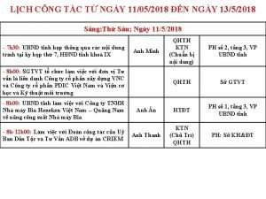 LCH CNG TC T NGY 11052018 N NGY