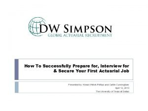 How To Successfully Prepare for Interview for Secure