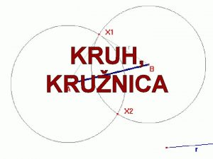 KRUH KRUNICA Obsah Krunica a kruh Vzjomn poloha