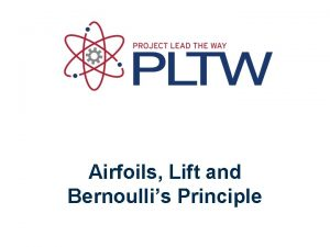 Airfoils Lift and Bernoullis Principle History Ancient Discoveries