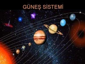 GNE SSTEM Gne ve uydular ile birlikte gezegenler