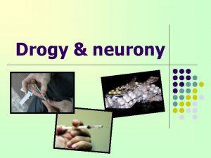 Drogy neurony Co to jsou pesn drogy l
