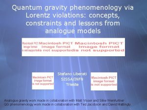 Quantum gravity phenomenology via Lorentz violations concepts constraints